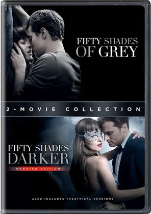 Fifty Shades of Grey / Fifty Shades Darker (2-Movie Collection, Unrated, 2 DVDs)