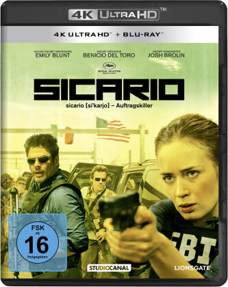 Sicario (2015) (4K Ultra HD + Blu-ray)