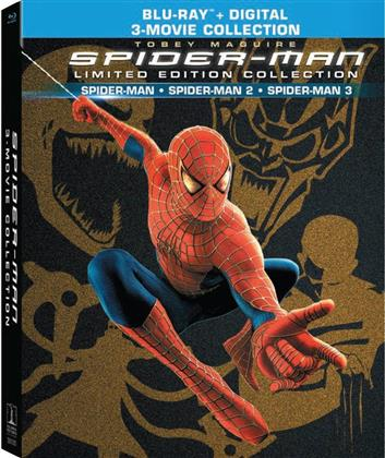 Spider-Man - Spider-Man / Spider-Man 2 / Spider-Man 3 (3-Movie Collection, Digibook, Limited Edition, 4 Blu-rays)