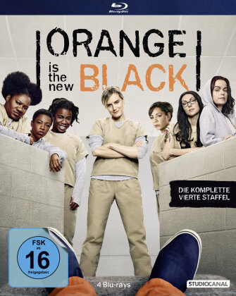 Orange is the New Black - Staffel 4 (4 Blu-rays)