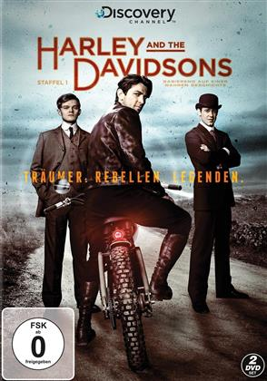 Harley and The Davidsons - Staffel 1 (Discovery Channel, 2 DVDs)