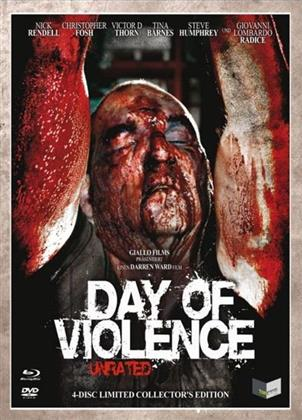 Day of Violence (2010) (Digipack, Cover C, Collector's Edition, Limited Edition, Uncut, Unrated, Blu-ray + 3 DVDs)