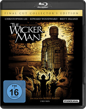 The Wicker Man (1973) (Final Cut, Collector's Edition, Director's Cut, Kinoversion, 2 Blu-rays)