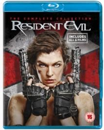 Resident Evil - The Complete Collection (6 Blu-rays)