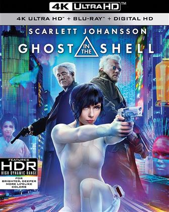 Ghost in the Shell (2017) (4K Ultra HD + Blu-ray)