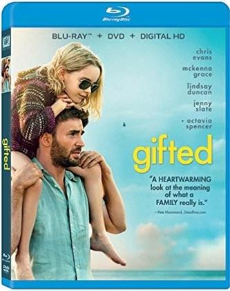 Gifted (2017) (Blu-ray + DVD)