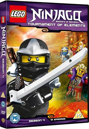 Lego Ninjago - Masters Of Spinjitzu - Season 4 - Tournament of Elements