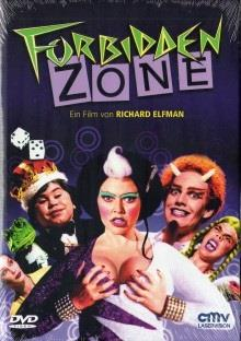 Forbidden Zone (1980) (Cover A, Kleine Hartbox, Trash Collection, Uncut)