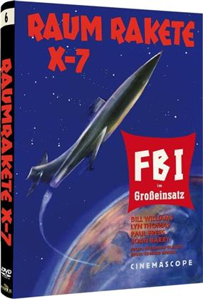 Raumrakete X-7 - FBI im Grosseinsatz (1958) (Cover A, Kleine Hartbox, Sci-Fi & Horror Classics, s/w, Limited Edition)