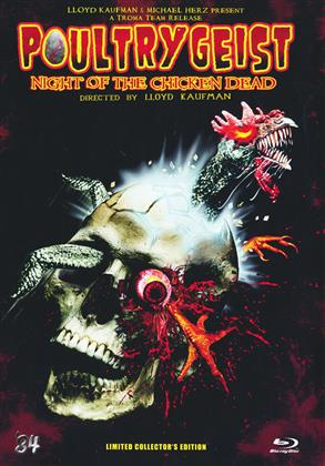 Poultrygeist - Night of the Chicken Dead (2006) (Collector's Edition, Limited Edition, Mediabook, Uncut)