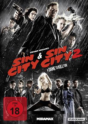 Sin City / Sin City 2 - A Dame to Kill for (2 DVDs)