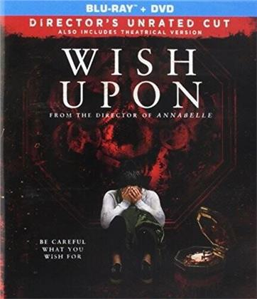Wish Upon (2017) (Director's Cut, Blu-ray + DVD)