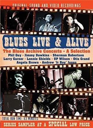 Various Artists - Blues Live & Alive