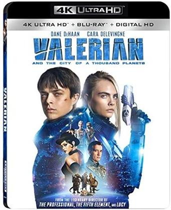 Valerian and the City of a Thousand Planets (2017) (4K Ultra HD + Blu-ray)