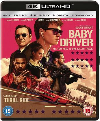 Baby Driver (2017) (4K Ultra HD + Blu-ray)