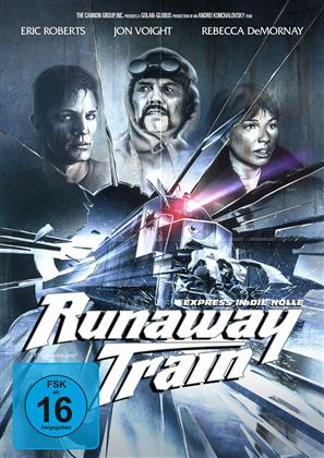 Runaway Train - Express in die Hölle (1985) (Cover B, Limited Edition, Mediabook, Uncut, Blu-ray + DVD)