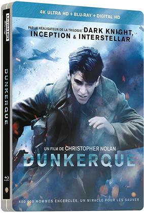 Dunkerque (2017) (Limited Edition, Steelbook, 4K Ultra HD + Blu-ray)