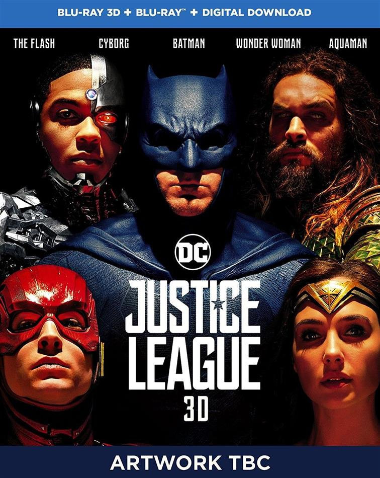 Justice League (2017) (Blu-ray 3D + Blu-ray)