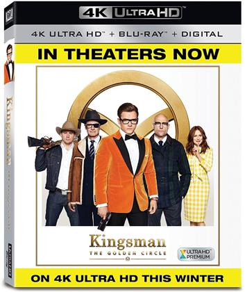 Kingsman 2 - The Golen Circle (2017) (4K Ultra HD + Blu-ray)