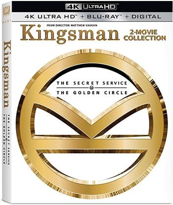 Kingsman 2-Movie Collection - The Secret Service / The Golden Circle (2 4K Ultra HDs + 2 Blu-rays)