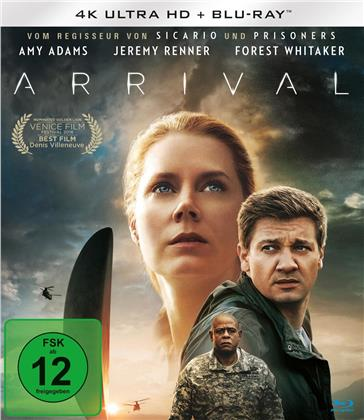Arrival (2016) (4K Ultra HD + Blu-ray)