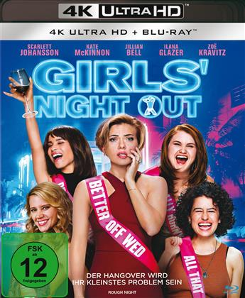 Girls' Night Out (2017) (4K Ultra HD + Blu-ray)