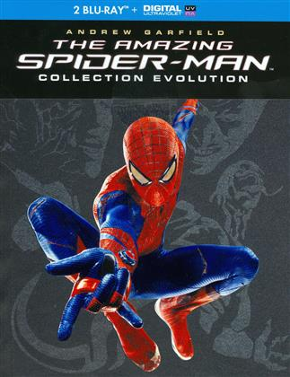 The Amazing Spider-Man / The Amazing Spider-Man 2 (Evolution Collection, Collection tus les parfums du monde, Limited Edition, 3 Blu-rays)