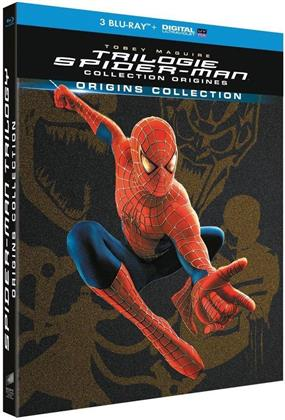 Trilogie Spider-Man - Collection Origines (Limited Edition, 3 Blu-rays)