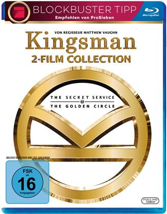 Kingsman: 2-Film Collection - The Secret Service / The Golden Circle (2 Blu-rays)