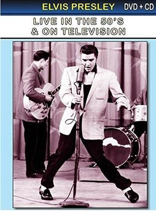 Elvis Presley - Live in the 50's & on television (s/w, DVD + CD)