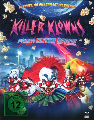 Killer Klowns from Outer Space (1988) (Limited Edition, Mediabook, Uncut, Blu-ray + 2 DVDs)