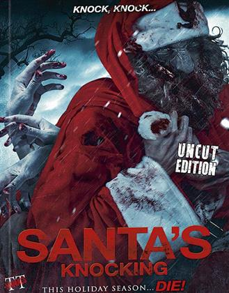 Santa's Knocking (2015) (Cover B, Limited Edition, Mediabook, Uncut)