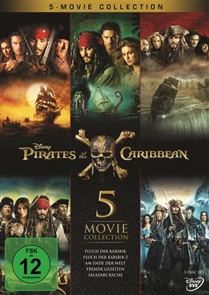 Pirates of the Caribbean - 5 Movie Collection (5 DVDs)