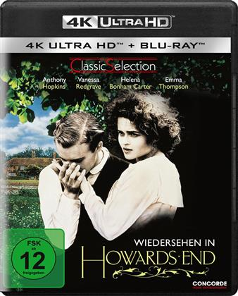 Wiedersehen in Howards End (1992) (Classic Selection, Restaurierte Fassung, 4K Ultra HD + Blu-ray)