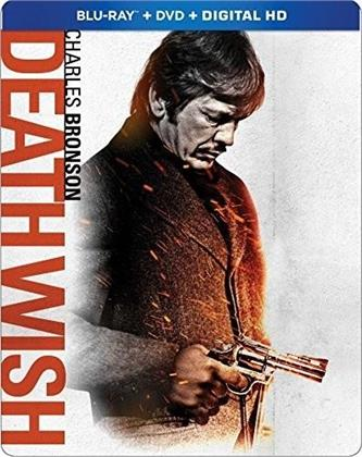 Death Wish (1974) (Steelbook, Blu-ray + DVD)