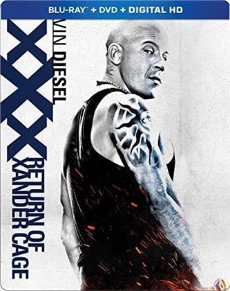 Xxx 3 - Return Of Xander Cage (2017) (Steelbook, Blu-ray + DVD)