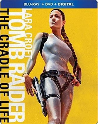 Lara Croft: Tomb Raider 2 - The Cradle Of Life (2003) (Steelbook, Blu-ray + DVD)