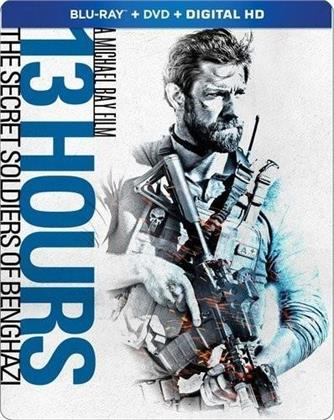 13 Hours - The Secret Soldiers Of Benghazi (2016) (Steelbook, Blu-ray + DVD)