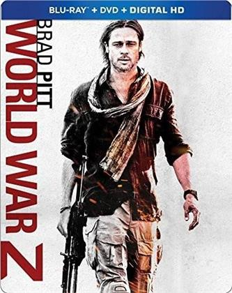 World War Z (2013) (Steelbook, Blu-ray + DVD)