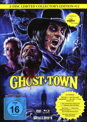 Ghost Town (1988) (Cover C, Limited Edition, Mediabook, Uncut, Blu-ray + DVD)
