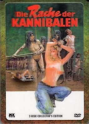 Die Rache der Kannibalen (1981) (Lenticular, Collector's Edition, Steelbox, Uncut, 2 DVDs)