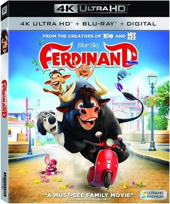 Ferdinand (2017) (4K Ultra HD + Blu-ray)