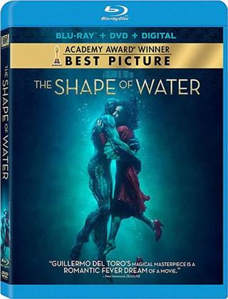 The Shape Of Water (2017) (Blu-ray + DVD)