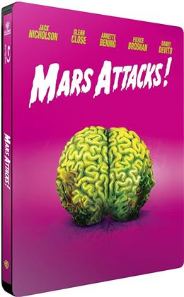 Mars Attacks! (1996) (Iconic Moments Collection, Limited Edition, Steelbook)