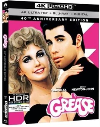 Grease (1978) (40th Anniversary Edition, 4K Ultra HD + Blu-ray)