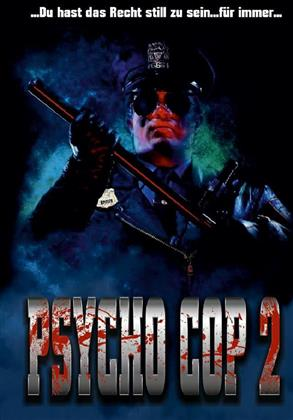 Psycho Cop 2 (1993) (Cover D, Limited Edition, Mediabook, Uncut, Blu-ray + DVD)