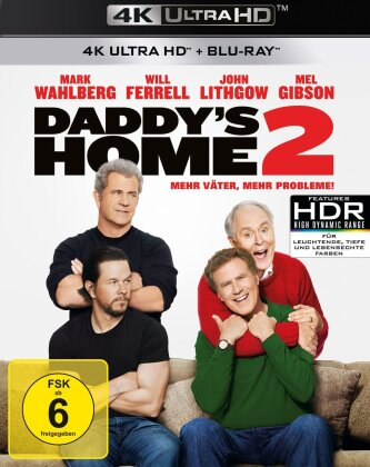 Daddy's Home 2 (2017) (4K Ultra HD + Blu-ray)