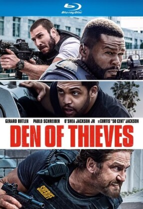 Den of Thieves (2018) (Blu-ray + DVD)