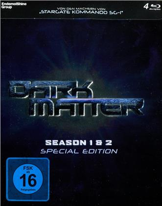 Dark Matter - Staffel 1 & 2 (Limited Edition, Special Edition, Steelbox, 4 Blu-rays)