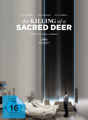 The Killing of a Sacred Deer (2017) (Limited Edition, Mediabook, Blu-ray + DVD)
